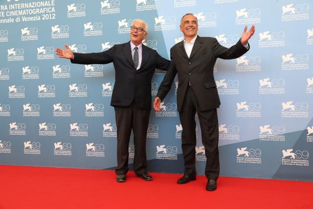 Festivalpräsident Paolo Baratta  und Festivaldirektor Alberto Barbera