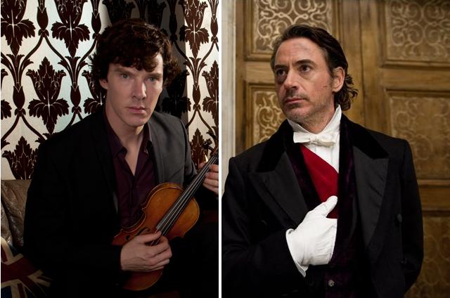 Sherlock vs Holmes