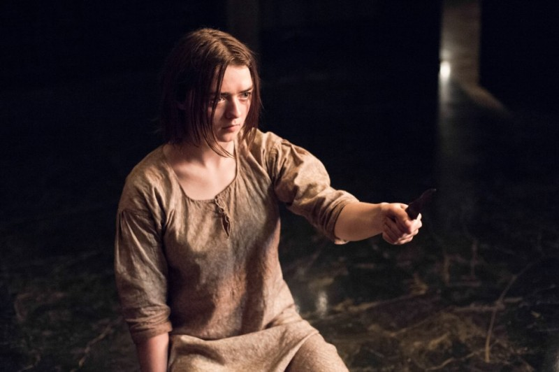 Arya Stark in Game of Thrones Mother's Mercy