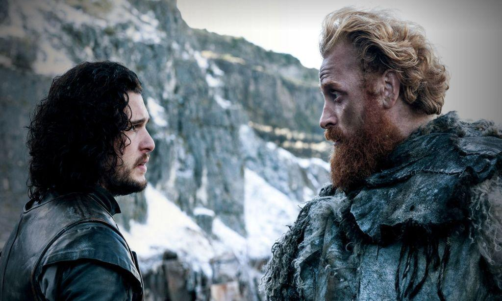 NEGATIV_GAME OF THRONES_HARDHOME_Jon Snow, Tormund Giantsbane