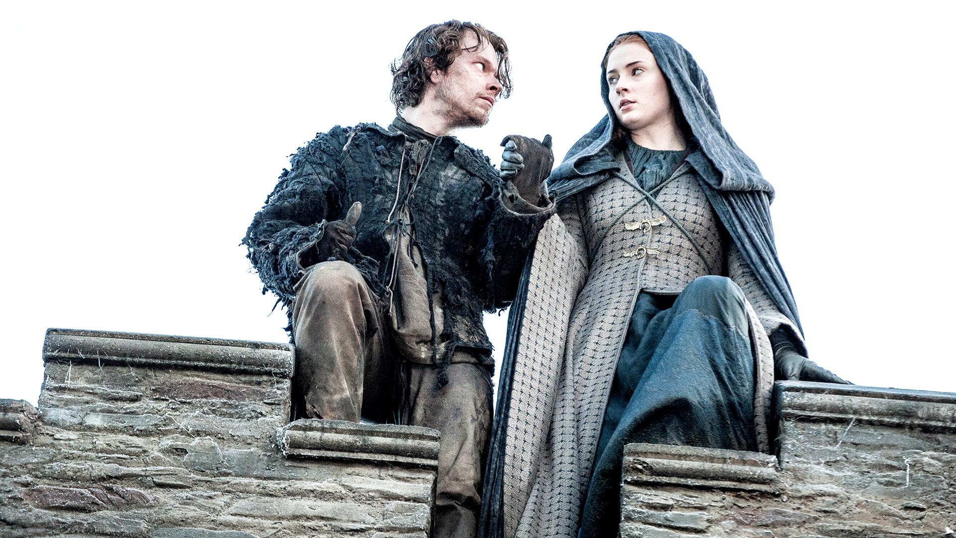 NEGATIV_GAME OF THRONES_MOTHER'S MERCY_Theon Greyjoy, Sansa Stark