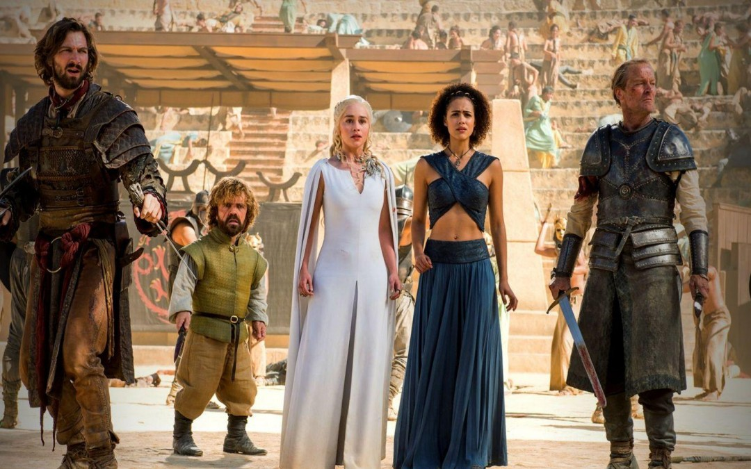 Fire and Blood – GAME OF THRONES: THE DANCE OF DRAGONS (S05E09)