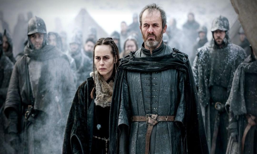 NEGATIV_GAME OF THRONES_THE DANCE OF DRAGONS_Selyse Baratheon, Stannis Baratheon