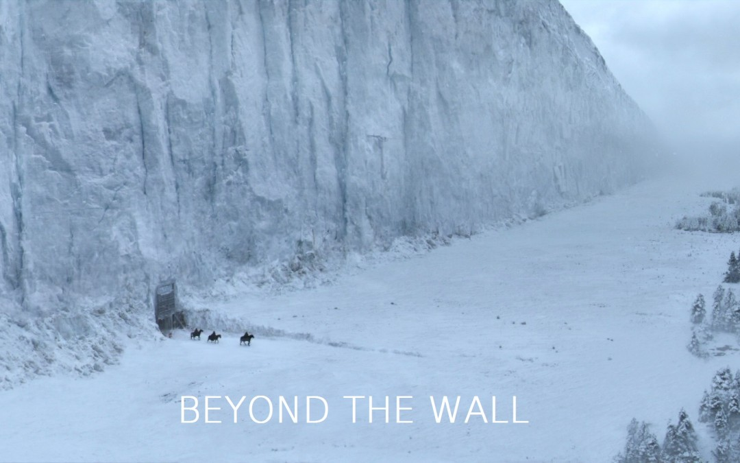 Beyond the Wall mit Schrift