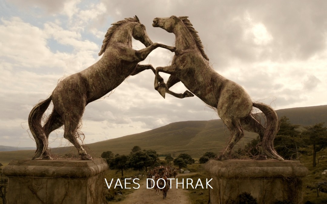 Vaes Dothrak mit Text