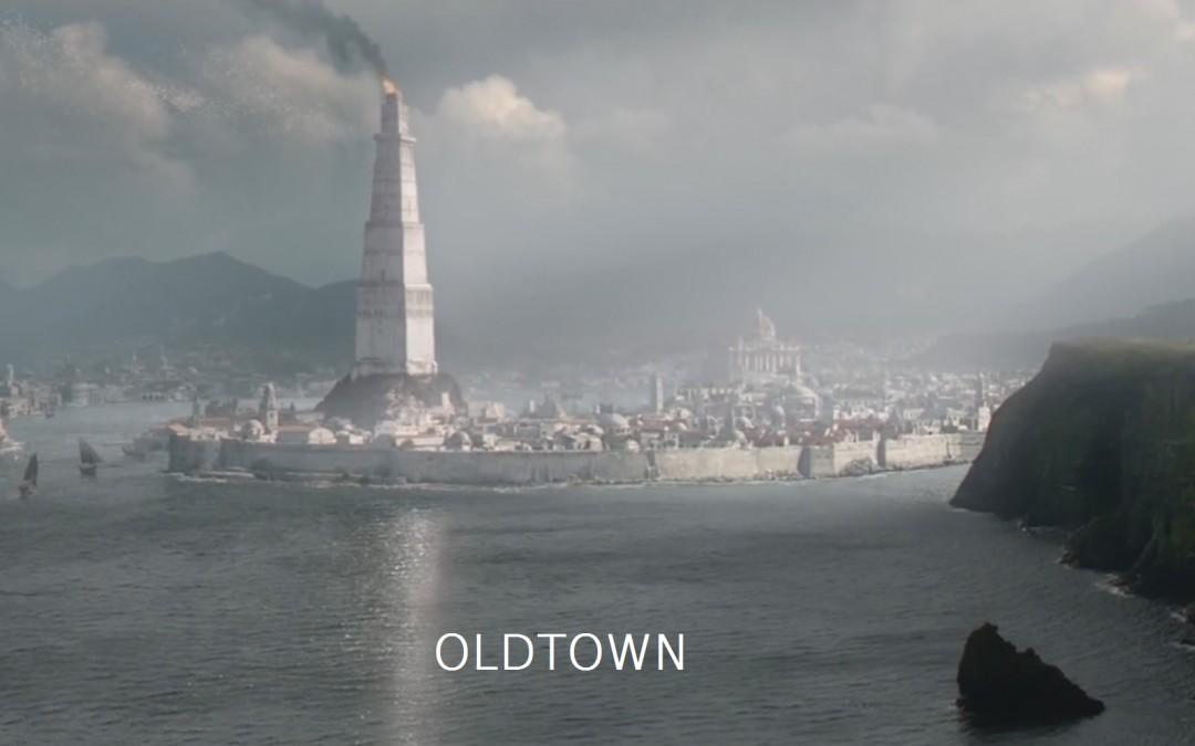 Oldtown mit schrift