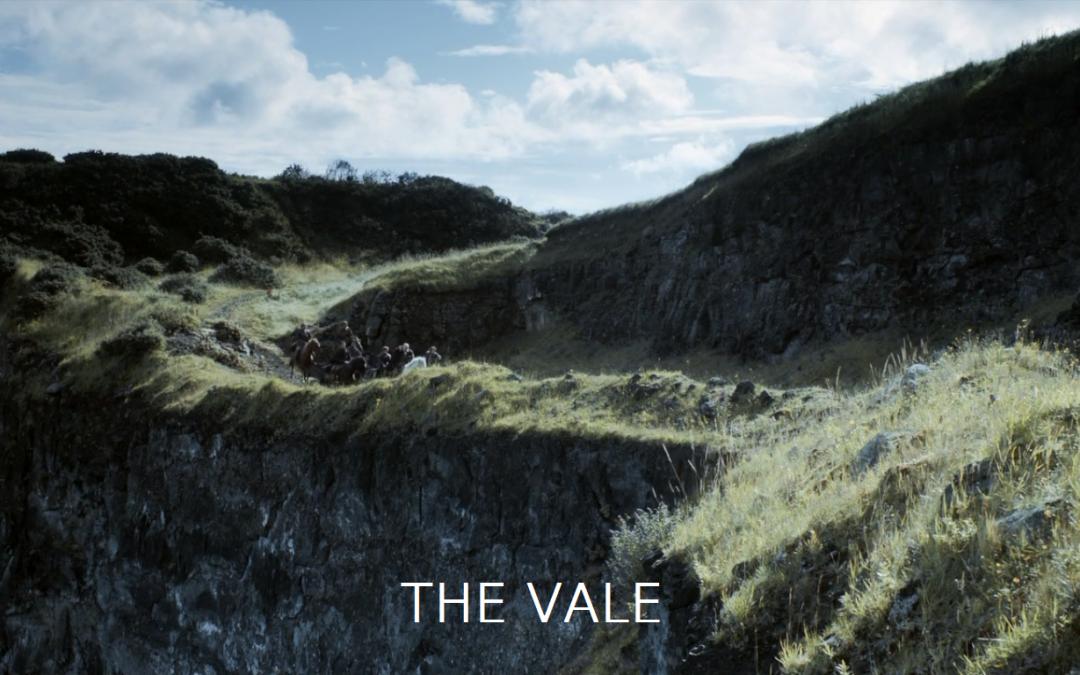 The Vale mit Schrift