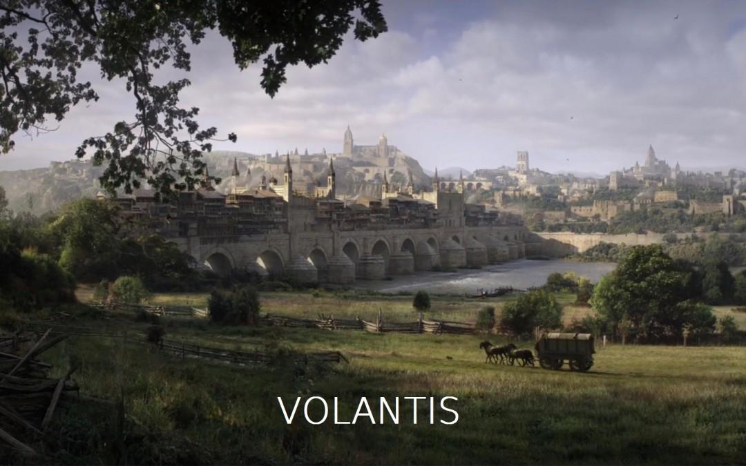 Volantis mit Text