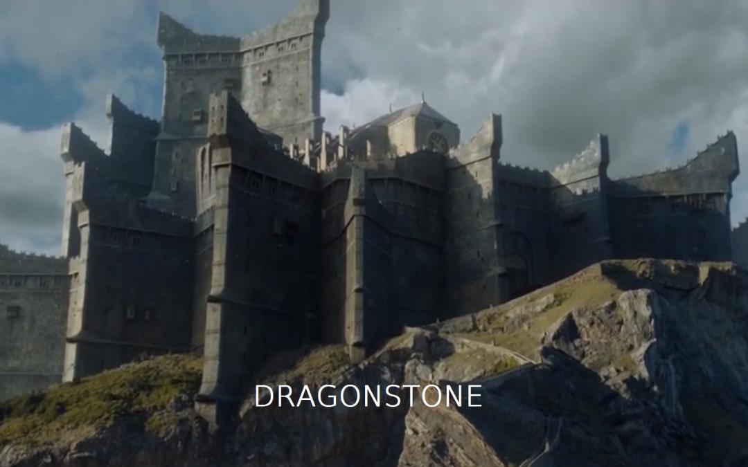Dragonstone mit Schrift