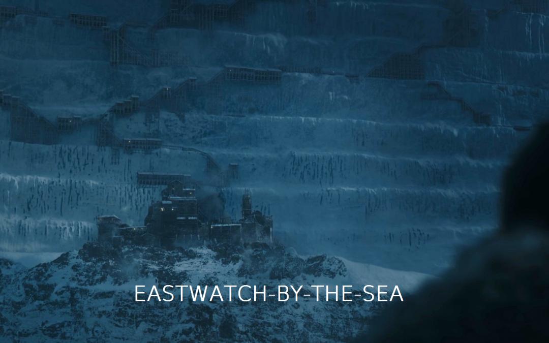 Eastwatch mit Schrift